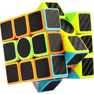 Rubikova kostka 3x3x3 - Carbonová - 2