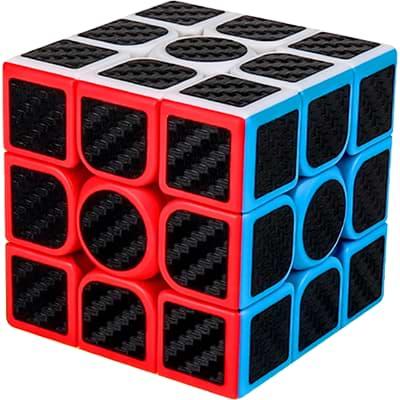Rubikova kostka 3x3x3 - Carbonová