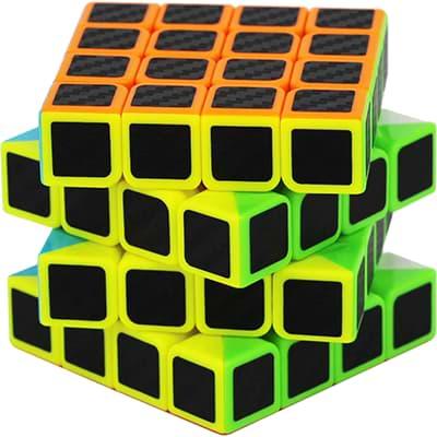 Rubikova kostka 4x4x4- Carbonová