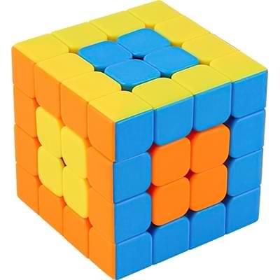 Rubikova kostka 4x4x4 - Bez nálepek 1