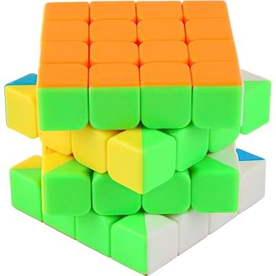 Rubikova kostka 4x4x4 - Bez nálepek - 2