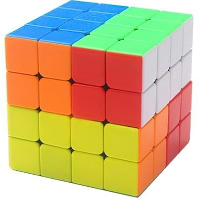 Rubikova kostka 4x4x4 - Bez nálepek - 3