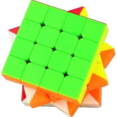 Rubikova kostka 4x4x4 - Bez nálepek - 4