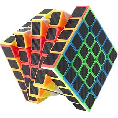 Rubikova kostka 5x5x5- Carbonová