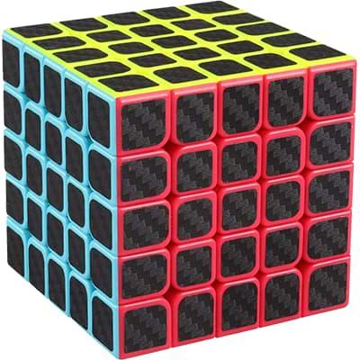 Rubikova kostka 5x5x5 - Carbonová