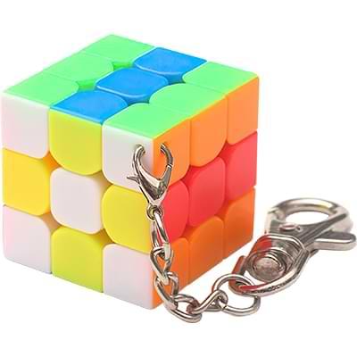 Rubikova kostka - Přívěsek na klíče