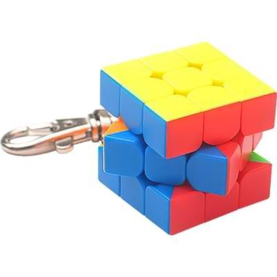 Rubikova kostka - Přívěsek na klíče - 2