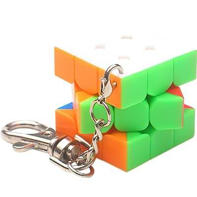 Rubikova kostka - Přívěsek na klíče - 3