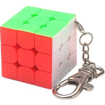 Rubikova kostka  - Přívěsek na klíče - 4