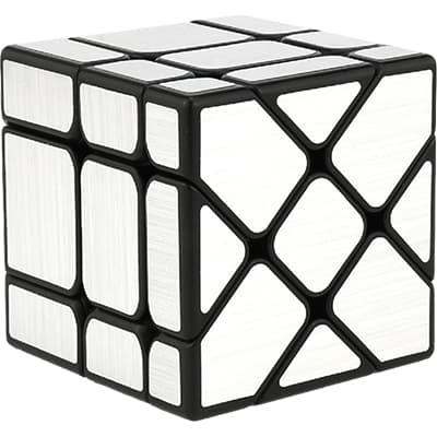 Rubikova kostka Zrcadlová - Mirror Cube -Stříbrná
