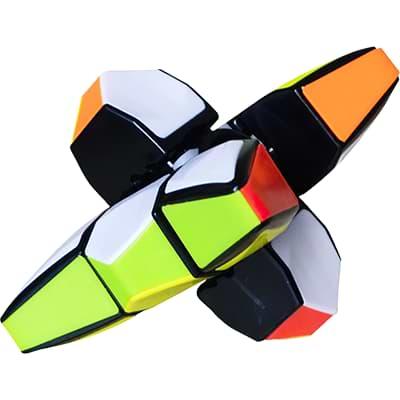 Rubikova kostka 1x3x3 - Spinner - 1
