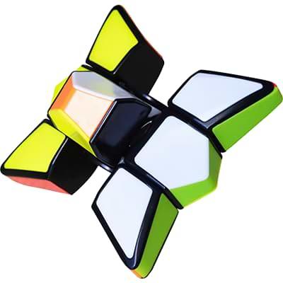 Rubikova kostka 1x3x3 - Spinner - 3