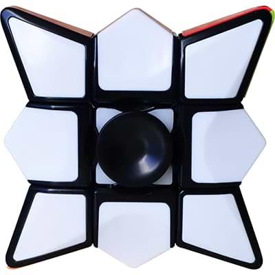 Rubikova kostka 1x3x3 - Spinner - 4