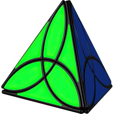 Rubikova kostka - Pyramida Clover - 1