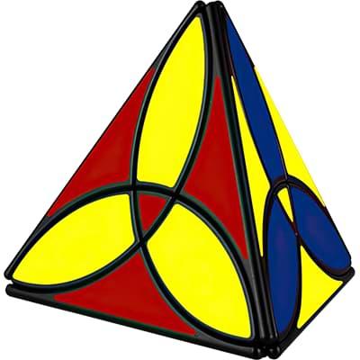 Rubikova kostka - Pyramida Clover - 4
