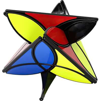 Rubikova kostka - Pyramida Clover - 2