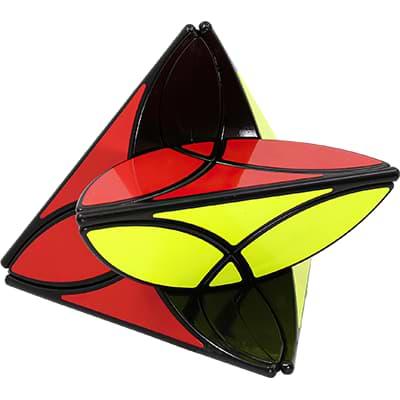 Rubikova kostka - Pyramida Clover - 3