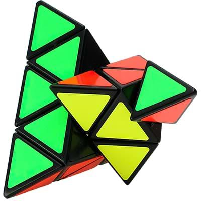 Rubikova kostka Pyramida 3x3x3 - 1