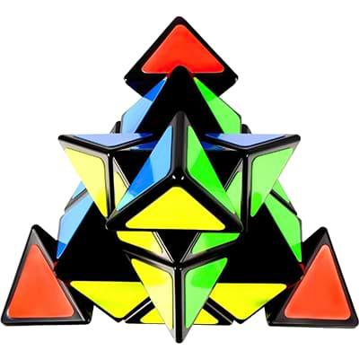 Rubikova kostka Pyramida 3x3x3 - 2