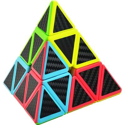 Rubikova kostka - Pyramida - Carbon