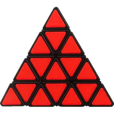 Rubikova kostka Pyramida 4x4x4 - 4