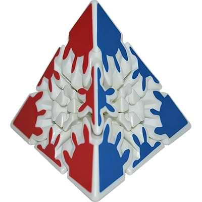 Rubikova kostka Gear pyramida 3x3x3 - 1