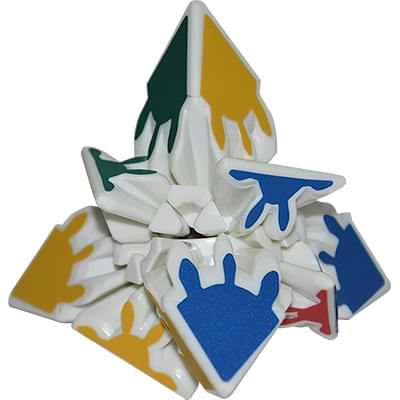 Rubikova kostka Gear pyramida3x3x3 - 2