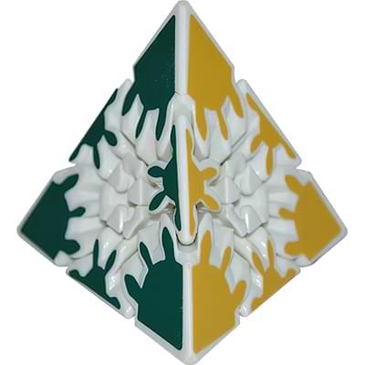 Rubikova kostka Gear pyramida 3x3x3 - 4