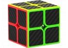 Rubikova kostka s carbonovým potiskem, dimenze 2x2x2
