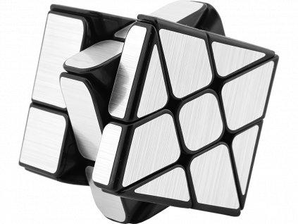 Rubikova kostka - Mirror Cube - Stříbrná - Windmill
