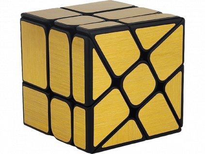 Rubikova kostka - Mirror Cube - Zlatá - Windmill