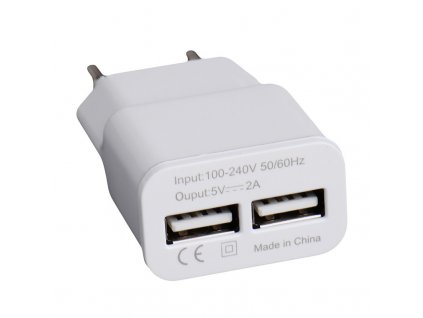 2 EU 5V 2A USB Adapter Wall Charger for mobile phones Devices with Micro Data Charging