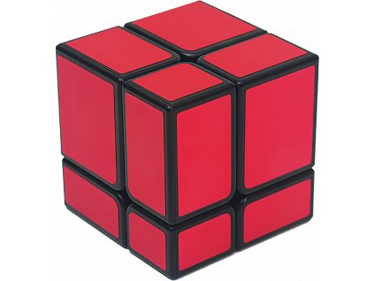 johns shop rubikova kostka zrcadlova mirror cube 2x2x2 cervena 1