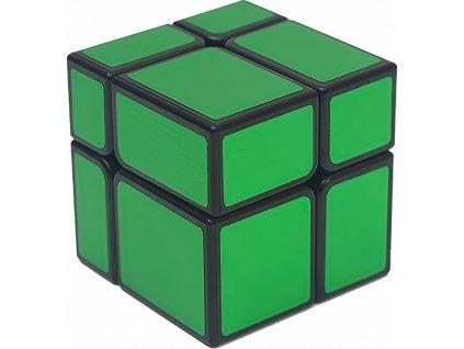 johns shop rubikova kostka zrcadlova mirror cube 2x2x2 zelena 1