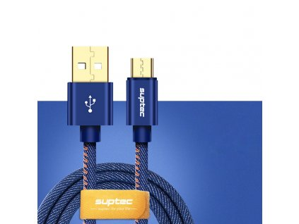 John's Shop USB kabel Džínový vzor (11)