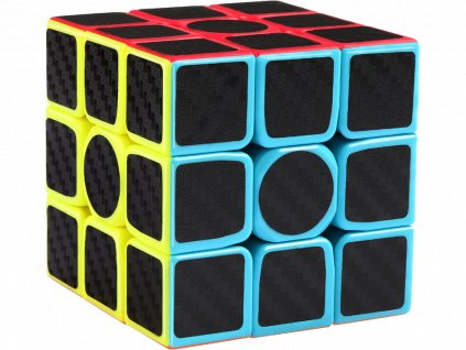 Rubikova kostka s carbonovým potiskem, dimenze 3x3x3