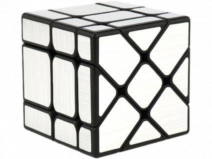 Rubikova kostka - Mirror Cube - Stříbrná - Fisher
