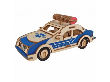 police car model Kids toys 3D Puzzle wooden toys Wooden Puzzle Educational toys for Children