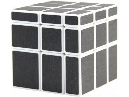johns shop rubikova kostka zrcadlova mirror cube 3x3x3 bila carbon 1
