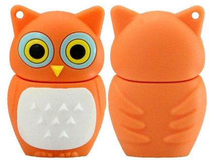 100 Real Capacity Pen Drive Cartoon Animal Owl USB Flash Drive 4GB 8GB 16GB 32GB 64GB