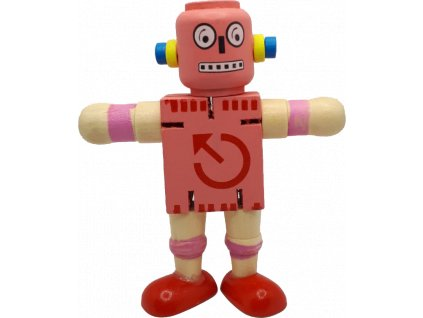 johns shop robot ruzovy 1