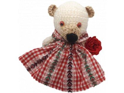 Ručně pletená medvědice - E52D3