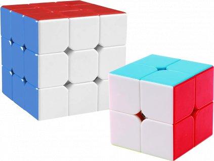 johns shop rubikova kostka 2x2x2 3x3x3 bez nalepek stickerless