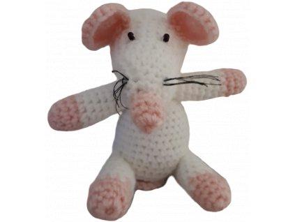 Ručně pletená myš - FA0J9