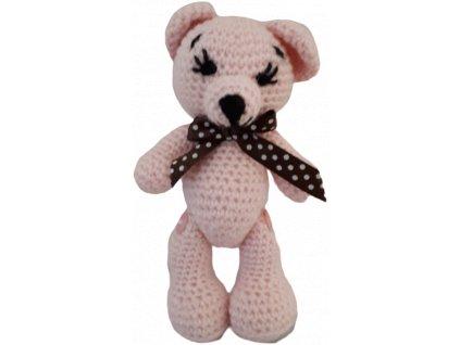 Ručně pletený medvěd - EA3C2