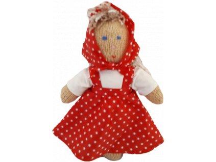 Ručně pletená panenka - JA7G6