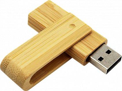 USB - Flash Disk - Dřevěný