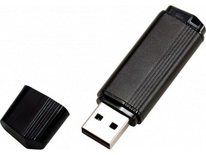 johns shop usb flash disk ceno metalicky cerny 1