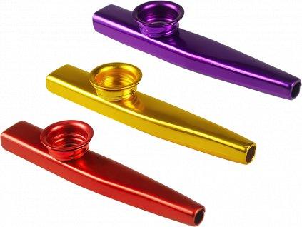 johns shop cz kazoo sada 3 ks cervena fialova zlata 1