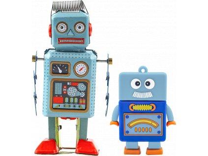 johns shop cz sada 2 ks robot usb flash disk a retro hracka 1